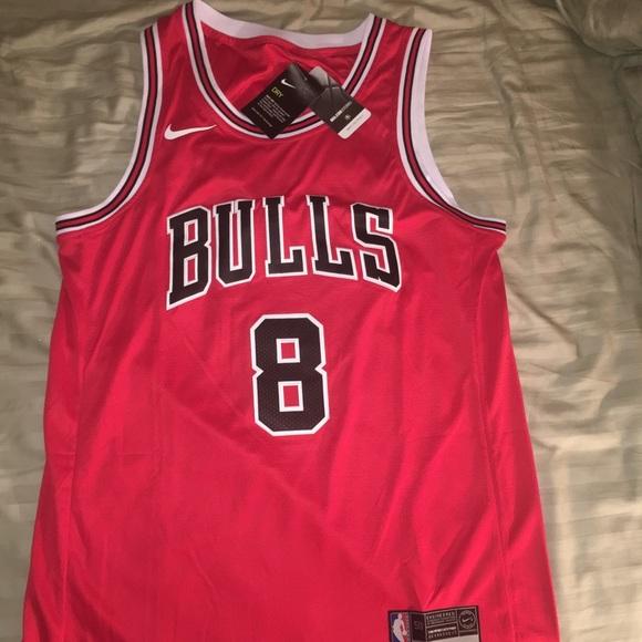 timeless design 746e0 b66ff Chicago bulls zach Lavine jersey nike sz medium NWT